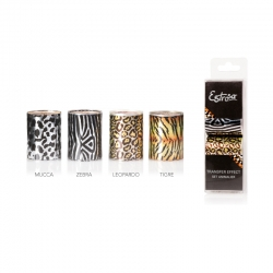 SET 4 TRANSFER EFFECT ANIMALIER - CARTINE TRASFERIBILI NAILS