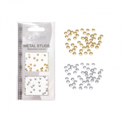 BORCHIE METAL STUDS - CIRCLE 2 MM