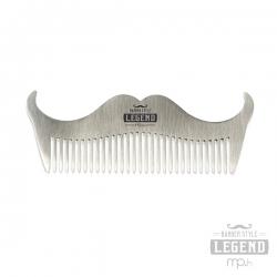 Pettine barba - ACCIAIO POCKET