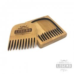 Pettine barba - LEGNO POCKET