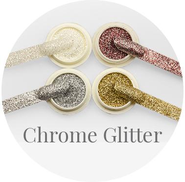 chrome glitter