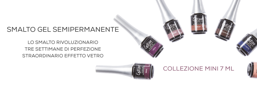 SMALTO GEL SEMIPERMANENTE MINI DA 7 ML